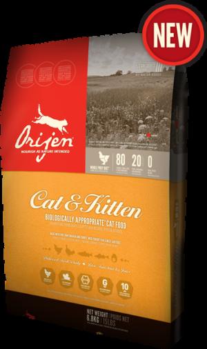 אוריג'ן חתולים וחתלתולים 6.8 קג