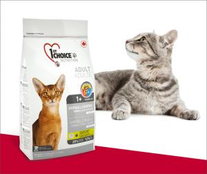 """פירסט צ'ויס חתול היפואלרגני 2.72 ק""""ג"""