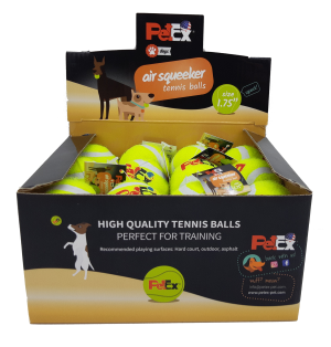 כדור טניס מצפצף בגודל של 1.75 אינץ