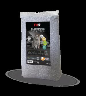 """פטקס חול מתגבש לחתול ללא תוספת בישום מכיל פחם פעיל 18 ק""""ג"""