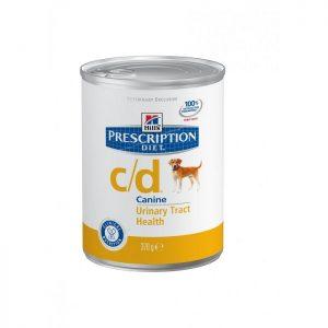 שימורי הילס מזון רפואי C/D לכלב 370 גרם