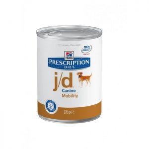 שימורי הילס מזון רפואי J/D לכלב 370 גרם