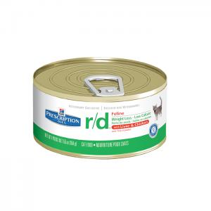 שימורי הילס מזון רפואי R/D לחתול 156 גרם
