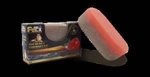 פטקס סבון גליצרין, חצי ים המלח ובוץ חצי רימון 95 גרם