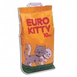 חול לחתול 10 קג euro kitty