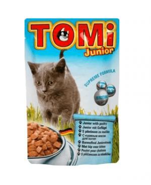 טומי ג'וניור חטיף לחתול