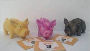 משחק לכלב חזיר לטקס