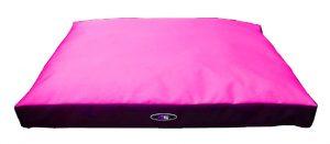 """פטקס מזרן שינה איכותי לכלב בצבע ורוד בגודל 90x70x10 ס""""מ"""