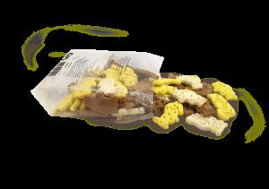אנימל פיגרס,מזון מלא לכלבים ,ביסקוויט צמחי לכלב 200 גרם