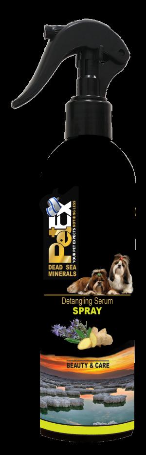 """פטקס ספריי להתרת קשרים לפרוות כלבים וחתולים 400 מ""""ל"""