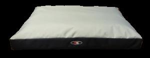 פטקס מזרן מפנק לכלב בצבע אפור מבד הדוחה מים 90X70X10