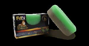 פטקס סבון גליצרין חצי בוץ ים המלח וחצי שמן עץ התה 95 גרם