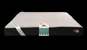 """פטקס -מזרן אורתופדי לכלב ,אנטי בקטריאלי בצבע חום ושחור 118X70X10 ס""""מ"""