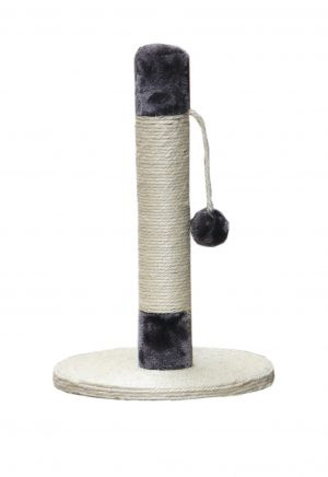 עמוד גירוד סטנדרטי לחתול עם בסיס עגול במידה 30X30X45 דגם SBE796-2