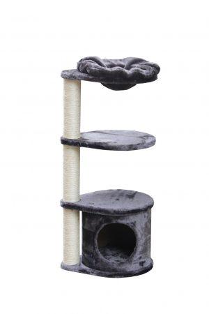 מתקן גירוד איכותי לחתול 3 קומות מבית פטקס דגם PS533 מידה 38X30X93