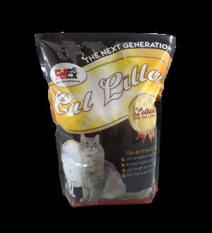 """מצע קריסטל לחתול 3.8 ליטר (1.8 ק""""ג ) בניחוח תפוחים"""