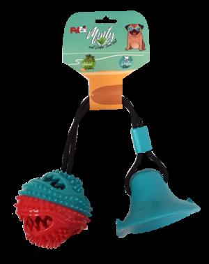 צעצוע דנטלי לכלב של חברת פטקס עשוי גומי מובחר עם וואקום איכותי דגם EO001