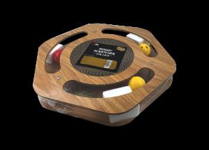 משטח גירוד ומשחק לחתול מעץ וקרטון ממוחזר בצורת משושה דגם מוגי SCT-60