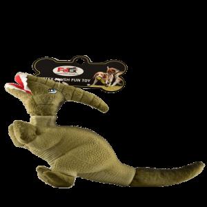 פטקס בובת משחק לכלב בדמות דינוזאור