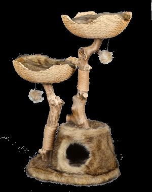 מתקן גירוד לחתול של חברת פטקס מעץ טבעי HY18342