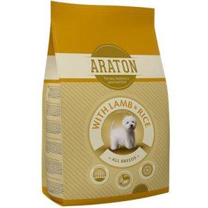 אראטון כלב בוגר עם כבש ואורז