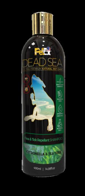 שמפו ים המלח, דוחה פרעושים וקרציות מכלבים וחתולים 400 מיליליטר