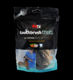 מברשת שיניים – חטיף יבש מלא לכלבים – המיועד לניקוי השיניים 100 גרם