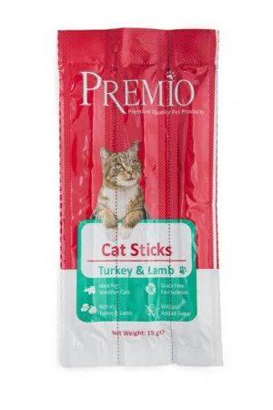 פרמיו חטיף לחתול מקלות הודו וכבש 15 גרם