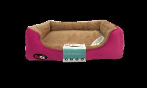 """פטקס – מיטה אורטופדית לכלב בצבע ורוד במידה 110X70X8 ס""""מ"""