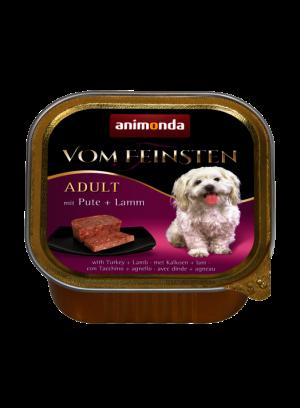 שימור וום פיינסטן לכלב בטעם הודו וכבש