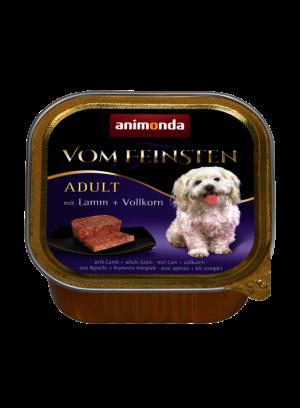 שימור וום פיינסטן לכלב בטעם טלה עם דגנים מלאים