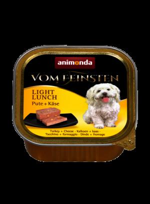 שימור וום פיינסטן לכלב בטעם הודו וגבינה