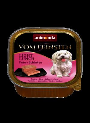 שימור וום פיינסטן לכלב בטעם הודו וחזיר
