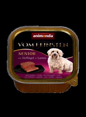 שימור וום פיינסטן לכלב מבוגר בטעם עופות וכבש