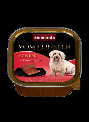 שימור וום פיינסטן לכלב מבוגר בטעם לבבות הודו