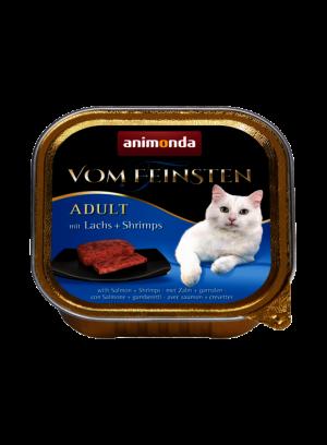 שימור וום פיינסטן לחתול בטעם סלמון ושרימפס