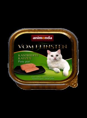 שימור וום פיינסטן לחתול מסורס בטעם הודו טהור