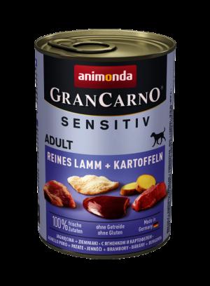 שימור גראן קרנו לכלב סנסיטיב – טלה טהור ותפוחי אדמה