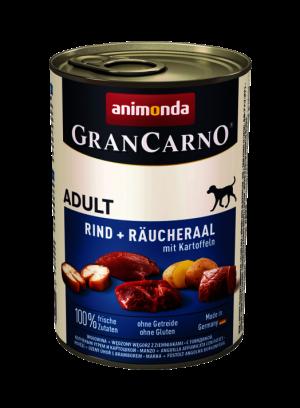 שימור גראן קרנו לכלב בטעם צלופח מעושן עם תפוחי אדמה