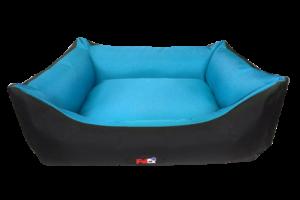 פטקס מיטה מפנקת לכלב בצבע תכלת מבד הדוחה מים 110X85X27 ס״מ