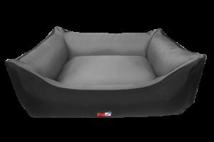 פטקס מיטה מפנקת לכלב בצבע אפור מבד הדוחה מים 110X85X27 ס״מ