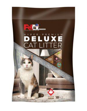 """פטקס – חול מתגבש לחתול בניחוח טלק תינוקת אריזת 18 ק""""ג"""